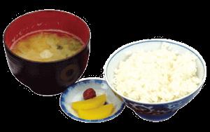 ご飯味噌汁セット