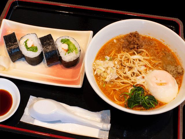 担々麺(並)レタス巻きセット